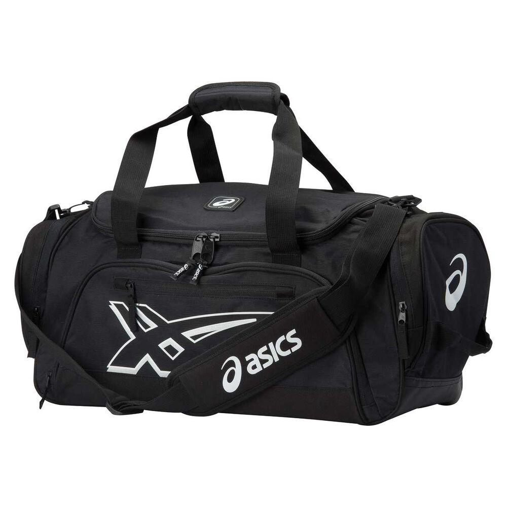 f8b2d0bf5738 Asics Small Duffel Bag Black