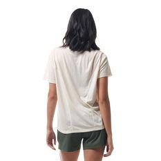 Ell & Voo Womens Jordan Tee White XXS, White, rebel_hi-res