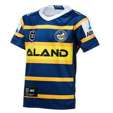 Parramatta Eels 2019 Kids Home Jersey Blue / Yellow 8, Blue / Yellow, rebel_hi-res