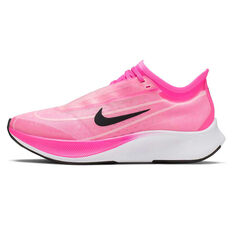 Nike Zoom Fly 3 Womens Running Shoes Pink / Grey US 6, Pink / Grey, rebel_hi-res