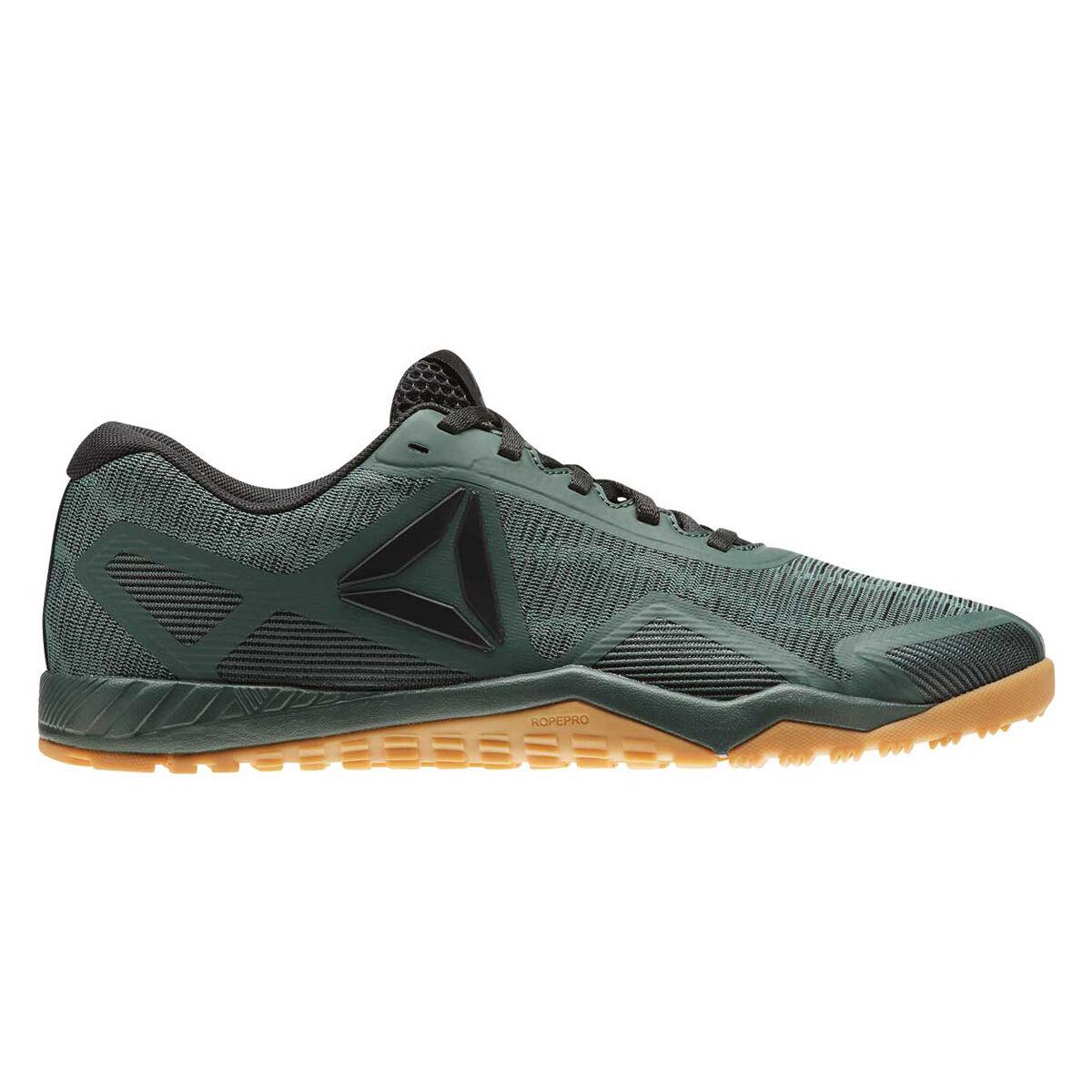 Reebok Workout TR 2.0 Mens Training Shoes Grey Black US 8