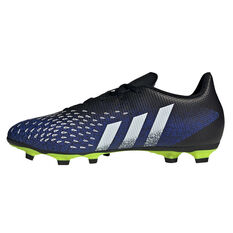 adidas Predator Freak .4 Football Boots Black US Mens 7 / Womens 8, Black, rebel_hi-res