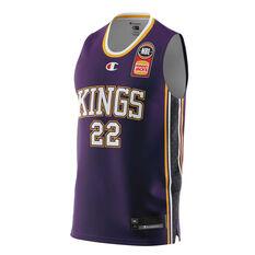 Sydney Kings Casper Ware Jr. Home 20/21 Mens Home Jersey Purple XS, Purple, rebel_hi-res