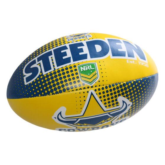 Gray Nicolls NRL North Queensland Cowboys Rugby League Ball, , rebel_hi-res
