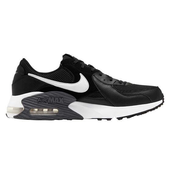 Nike Air Max Excee Mens Casual Shoes, Black / White, rebel_hi-res
