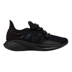 New Balance Fresh Foam Roav Kids Running Shoes Black US 4, Black, rebel_hi-res