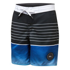 Quiksilver Boys Swell Vision Beach Short Boardshorts Blue 8, Blue, rebel_hi-res