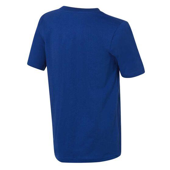 LA Dodgers Short Sleeve Cotton Tee Blue / White 3, Blue / White, rebel_hi-res