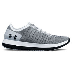 Under Armour Slingride 2 Mens Casual Shoes White / Black US 7, White / Black, rebel_hi-res