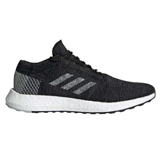 adidas Pureboost GO Mens Running Shoes, Black / Grey, rebel_hi-res