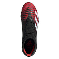 adidas Predator 20.3 Football Boots, Black / White, rebel_hi-res