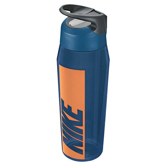 Nike Hypercharge 946ml Water Bottle Blue Force, Blue Force, rebel_hi-res