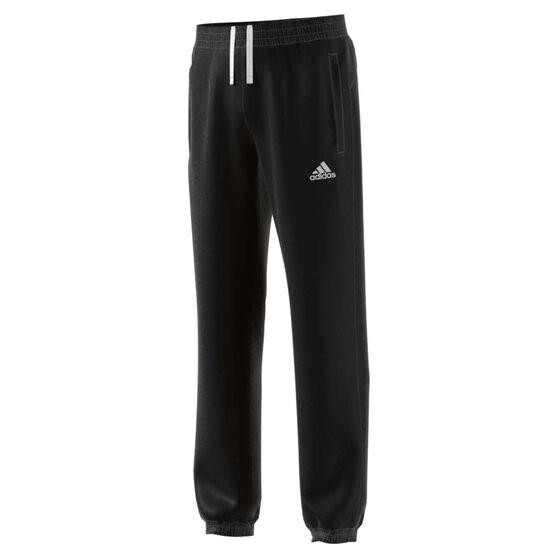 adidas Boys Stanford Pants Black 8, Black, rebel_hi-res
