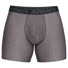 Under Armour Mens Original Series 6in Boxerjock 2 Pack Green XS, Green, rebel_hi-res
