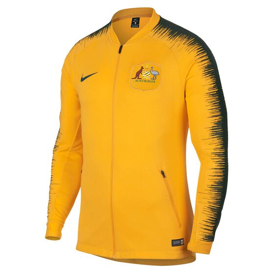 Socceroos 2018 Mens Anthem Football Track Jacket, , rebel_hi-res