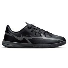 Nike Phantom GT2 Club Kids Indoor Soccer Shoes Black/Grey US 10, Black/Grey, rebel_hi-res