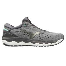 Mizuno Wave Sky 3 Mens Running Shoes Grey / White US 8, , rebel_hi-res