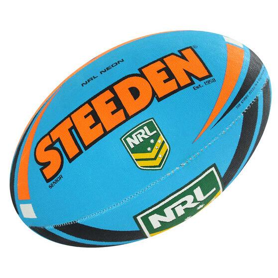 Steeden NRL Neon Rugby League Ball, , rebel_hi-res