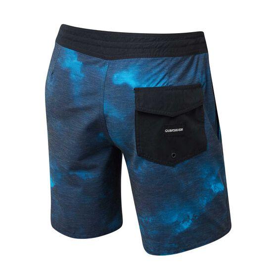 Quiksilver Mens Acid Board Shorts, Navy, rebel_hi-res