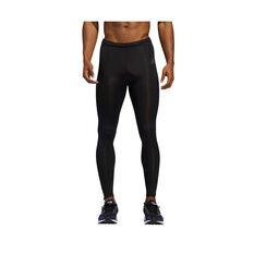 adidas Mens Own The Run Long Tights, Black, rebel_hi-res