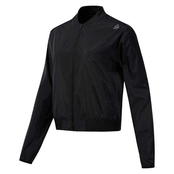 Reebok Womens Workout Ready Woven Jacket, , rebel_hi-res