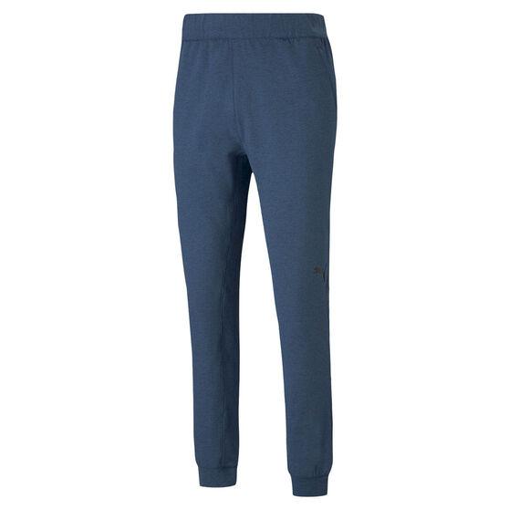 Puma Mens Training Concept Knit Jogger Pants, Blue, rebel_hi-res