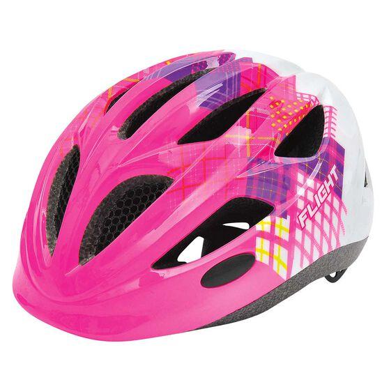 Flight Toddler Bike Helmet 51-55cm Pink / White, , rebel_hi-res