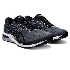 Asics GEL Cumulus 22 2E Mens Running Shoes, Grey/Black, rebel_hi-res