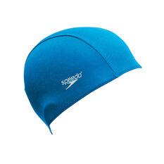 Speedo Kids Polyester Swim Cap, , rebel_hi-res