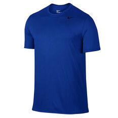 Nike Mens Legend 2.0 Training Tee Blue / Black S, Blue / Black, rebel_hi-res