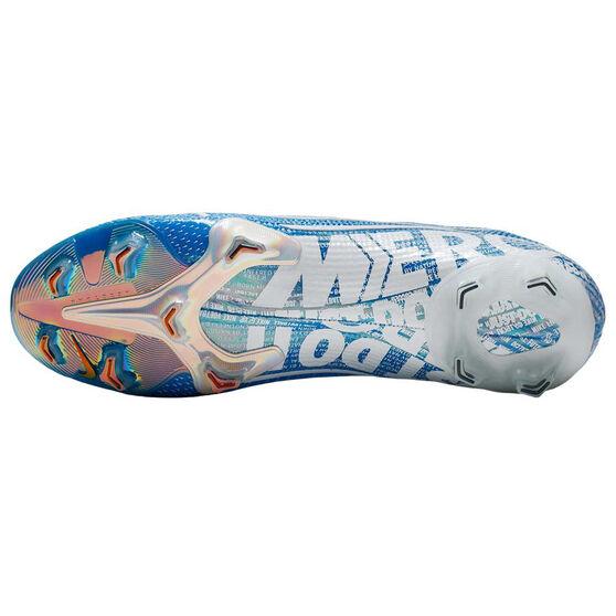 Nike Mercurial Vapor XIII Elite Football Boots Blue / White US Mens 13 / Womens 14.5, Blue / White, rebel_hi-res