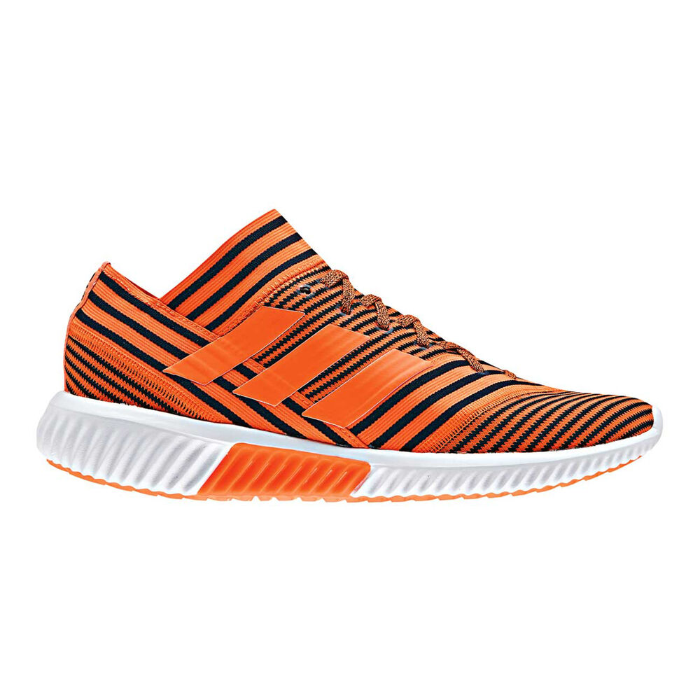88f8f4e82 adidas Nemeziz Tango 17.1 TR Mens Indoor Soccer Shoes Orange   Black US 8  Adult