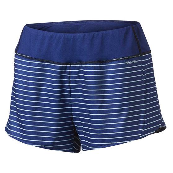 Ell & Voo Womens Cindy Running Shorts, Navy, rebel_hi-res