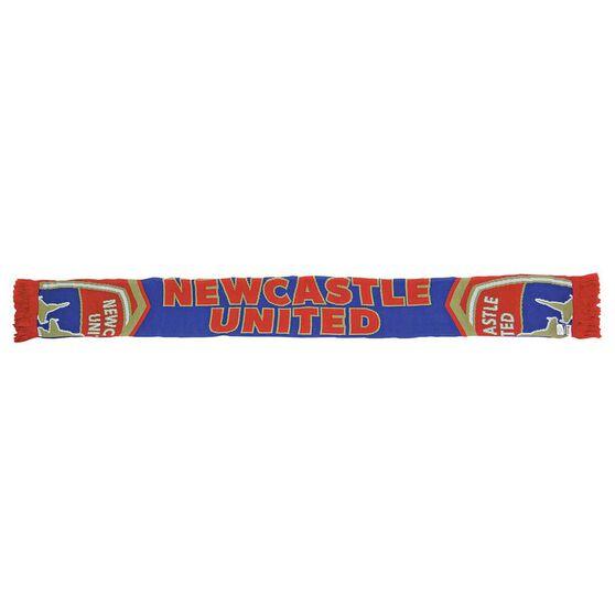 Newcastle Jets Cleave Jacquard Scarf, , rebel_hi-res