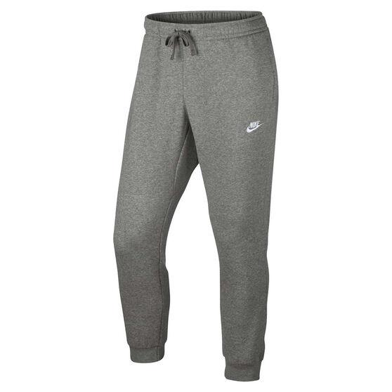 Nike Mens Sportswear Jogger Club Pants Grey / White XXL, Grey / White, rebel_hi-res