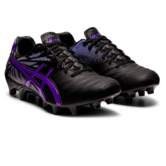 Asics Lethal Tigreor IT FF 2 Womens Football Boots, Black/Blue, rebel_hi-res