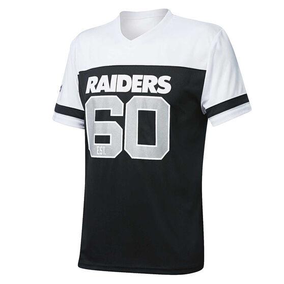 Oakland Raiders Poly Mesh Tee, , rebel_hi-res