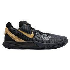 Nike Kyrie Flytrap II Mens Basketball Shoes Black / Gold US 7, Black / Gold, rebel_hi-res