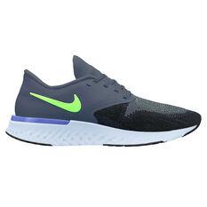 Nike Odyssey React 2 Mens Running Shoes Blue / Black US 8, Blue / Black, rebel_hi-res