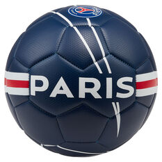 Nike Paris Saint Germain FC Prestige Soccer Ball Navy / Red 5, Navy / Red, rebel_hi-res