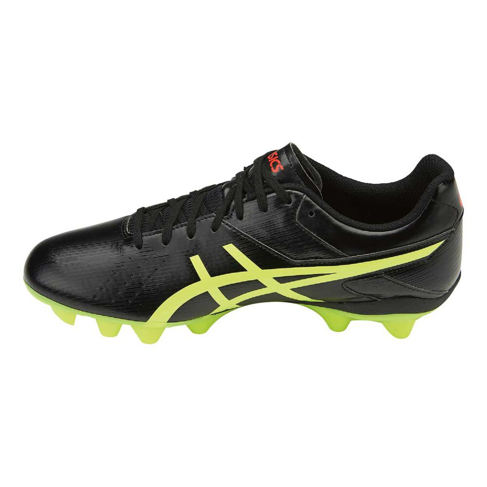 ce92edb6fbd Asics Lethal Speed RS Mens Football Boots Black   Yellow US 8.5 Adult