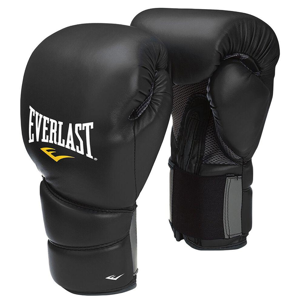 Shiv Naresh Teens Boxing Gloves 12oz: Everlast Protex2 12oz Training Boxing Gloves Black