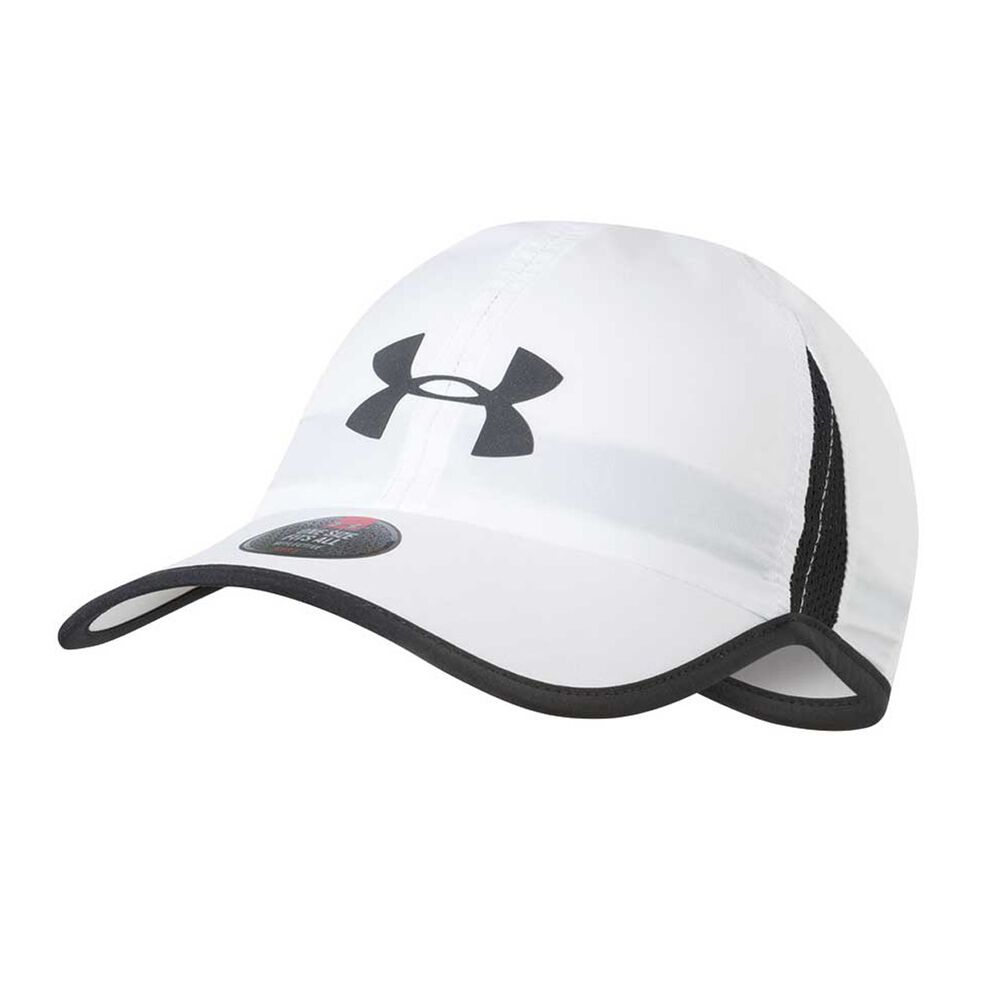 Under Armour Shadow Cap 4 White   Black OSFA  efef78f1087
