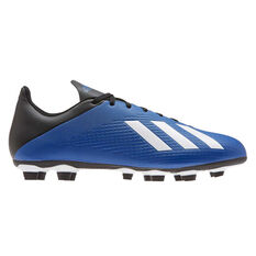 adidas X 19.4 FXG Football Boots Blue / White US Mens 7 / Womens 8, Blue / White, rebel_hi-res