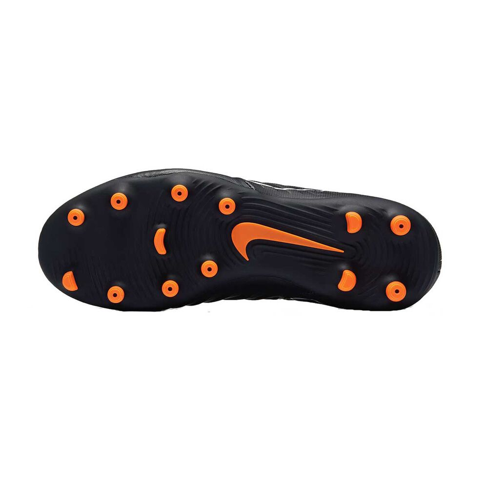 c33a3f291 Nike Tiempo Legend VII Club FG Junior Football Boots Black / Orange US 1  Junior,