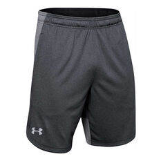 Under Armour Mens Knit Performance Training Shorts, Black, rebel_hi-res