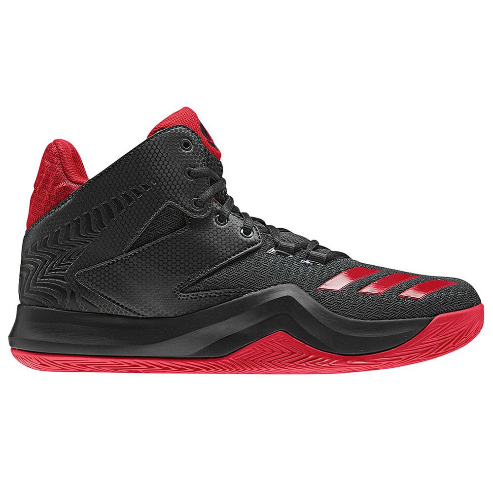 buy online fe16a ff934 adidas D Rose 773 V Mens Basketball Shoes Black   Red US 10.5, Black