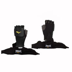 Everlast EverDri Quick Wraps Black Black S / M, Black, rebel_hi-res