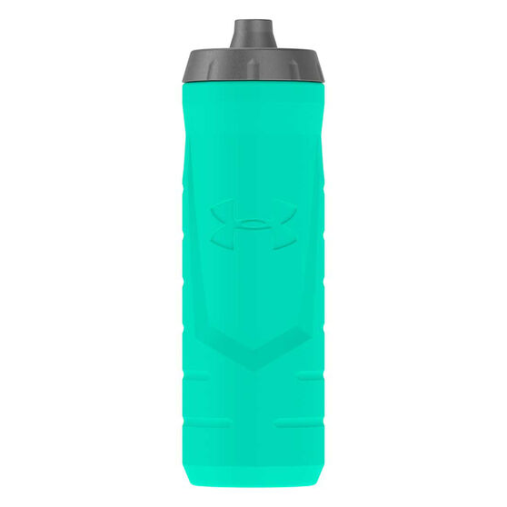 Under Armour Sideline Squeezable 946ml Water Bottle Crystal, Crystal, rebel_hi-res