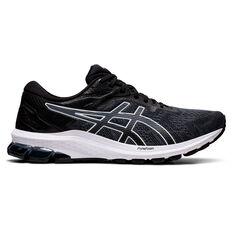 Asics GT 1000 10 Mens Running Shoes Black/White US 7, Black/White, rebel_hi-res
